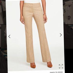 ANN TAYLOR signature trouser tan/camel